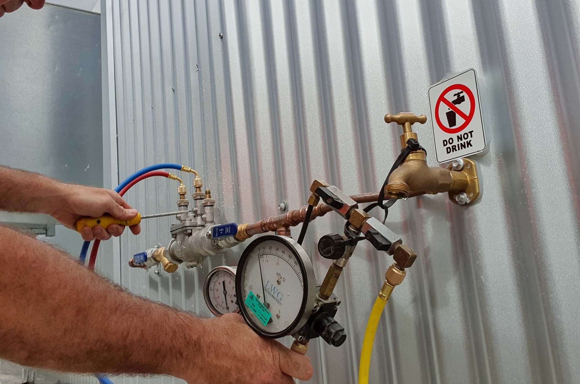 Backflow Prevention Buderim