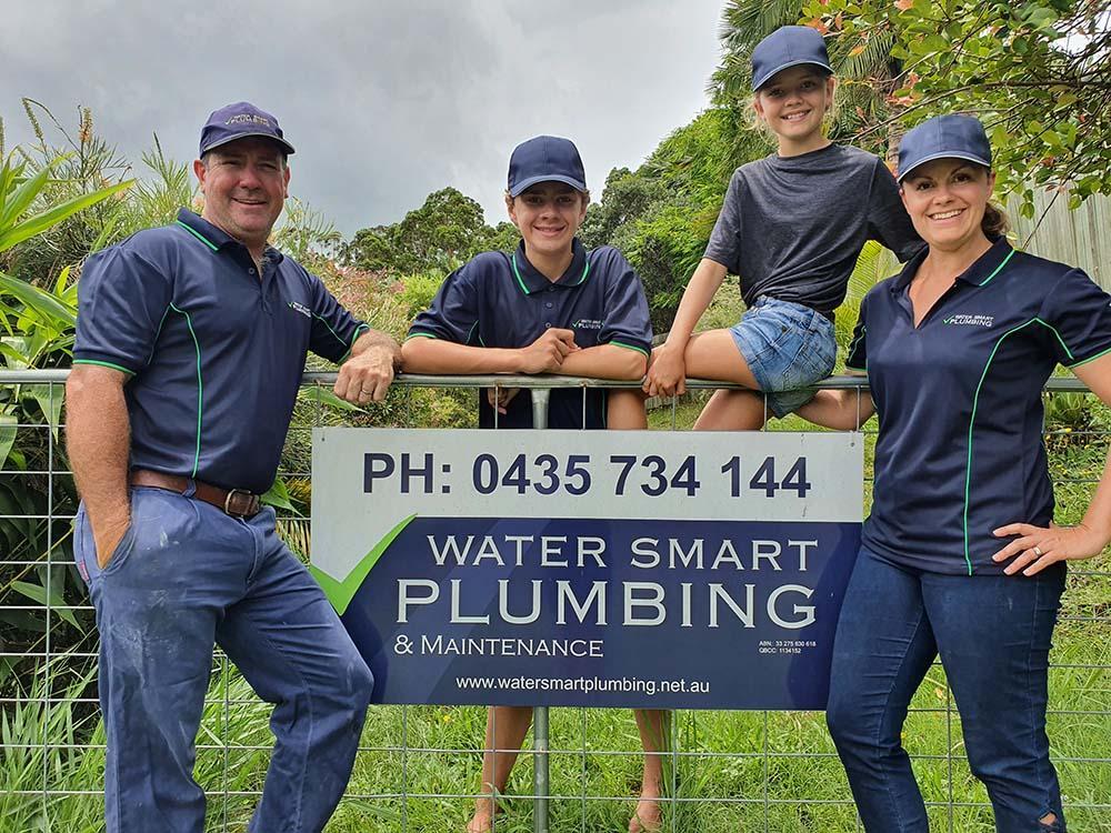 Water Smart Plumbing Family Photo